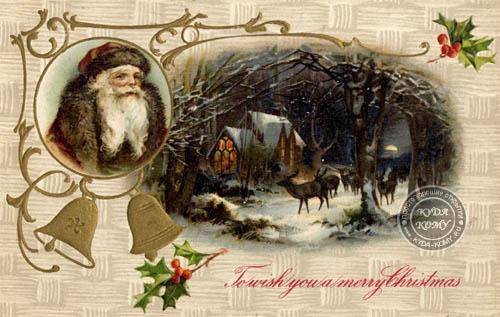 Рисунок с Деда Мороза